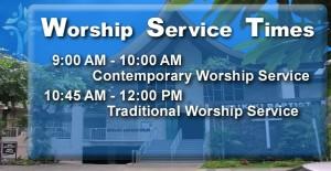 2015 Worship Service Banner